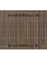 Wood cladding N°10 vertical blades